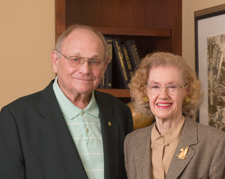 Jack & Paula Evans at Cornwall Manor Retirement Community